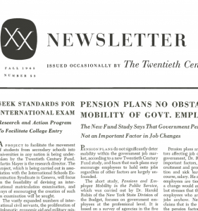 1965_Fall_Newsletter